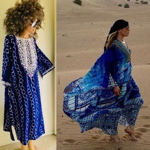 VINTAGE Resort CAFTAN DRESS 3X - Get the LOOK!